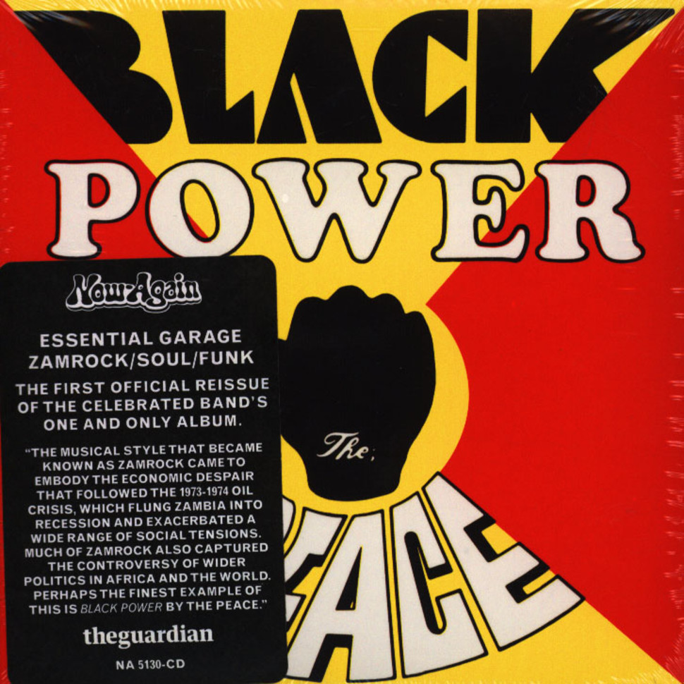 Peace, The - Black Power (CD - 1975 - US - Reissue)