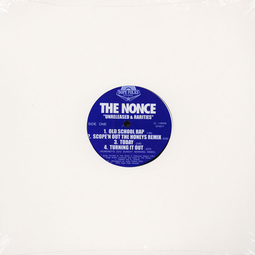 Nonce, The - Unreleased & Rarities