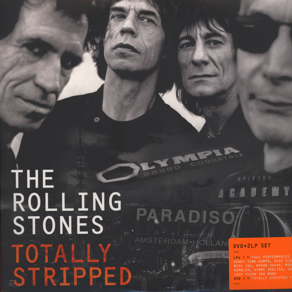 Rolling Stones The Totally Stripped Vinyl 2lp Dvd