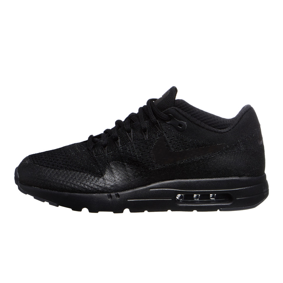 new product d8d71 81eab Nike. Air Max 1 Ultra Flyknit (Black ...