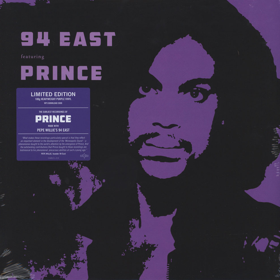 94 East 94 East Feat Prince Purple Vinyl Edition