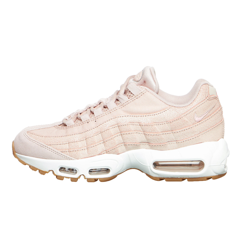 af0fe0717c Nike - Air Max 95 Premium (Pink Oxford / Pink Oxford / Bright Melon ...