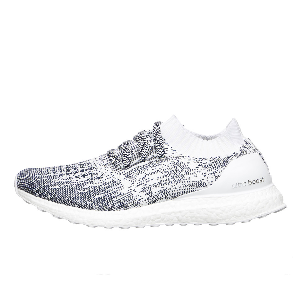 3c6103cad adidas. UltraBOOST Uncaged (Non Dyed   Footwear White   Collegiate Navy)