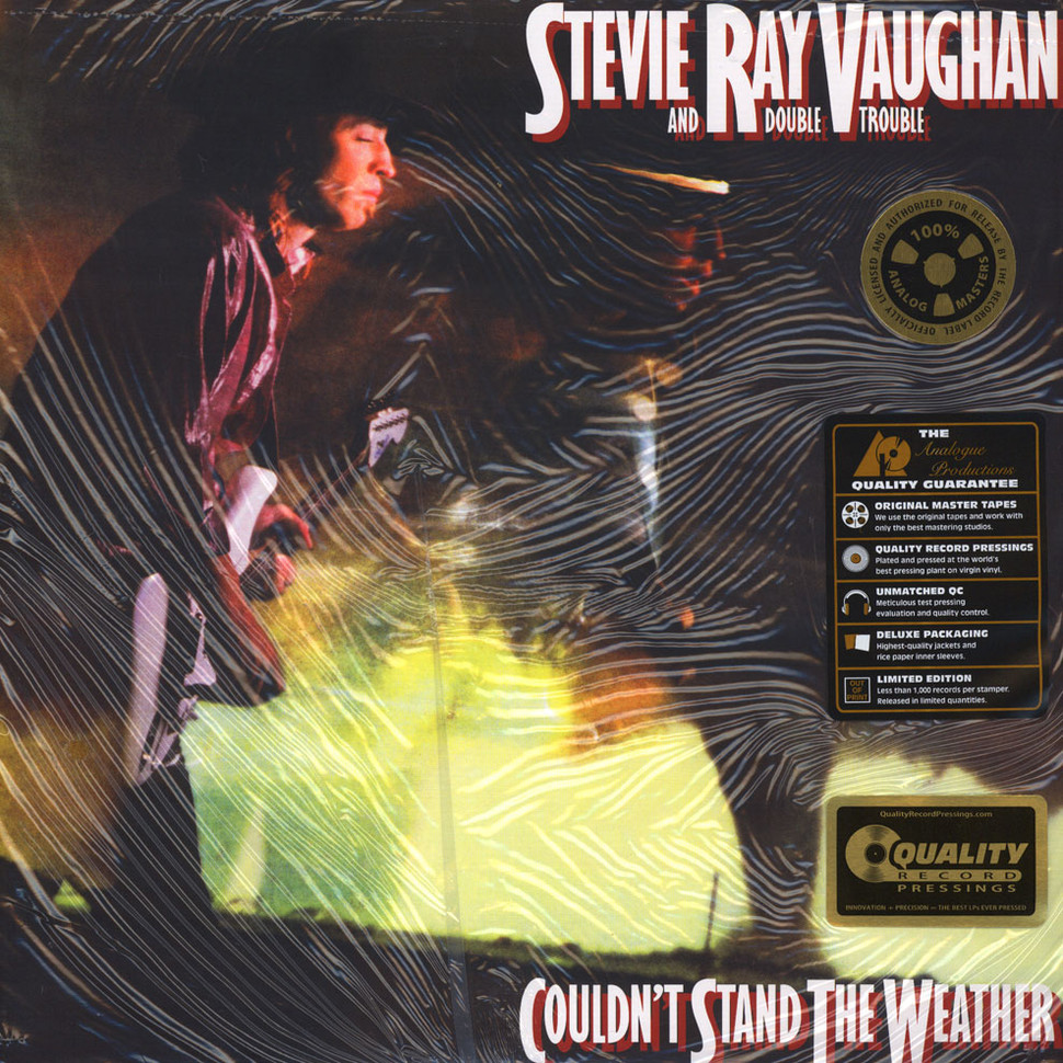 Stevie Ray Vaughan Couldn T Stand The Weather 45rpm