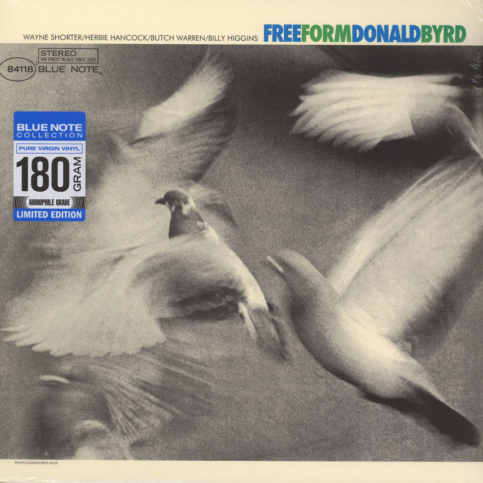 Donald Byrd - Free Form (Vinyl LP - 1966 - EU - Reissue)