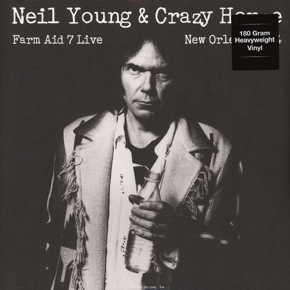 neil young crazy horse live at farm aid 7 in new orleans september 19 1994 vinyl lp 2017. Black Bedroom Furniture Sets. Home Design Ideas