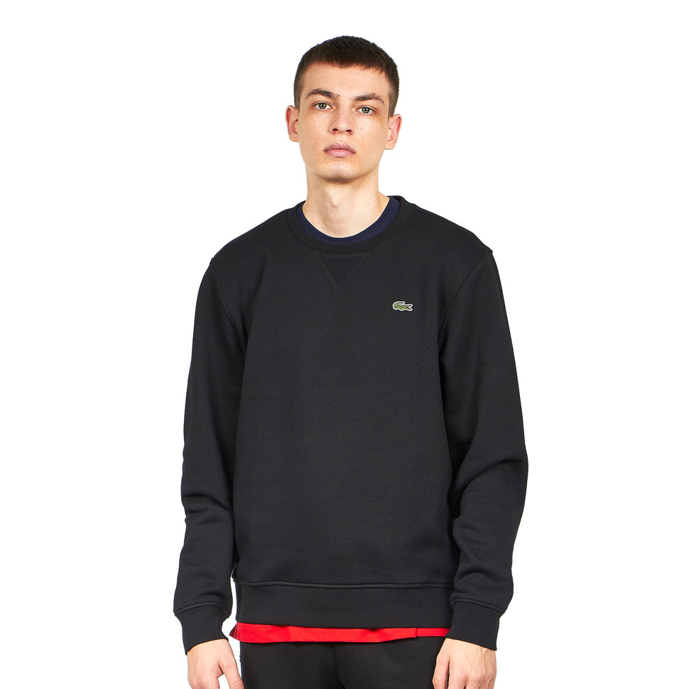 LACOSTE Brushed Fleece Sweater