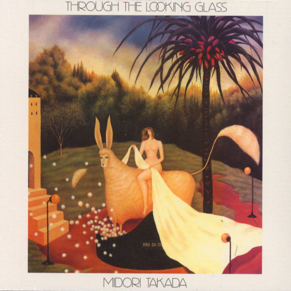 Midori Takada Through The Looking Glass Cd 1983 Eu