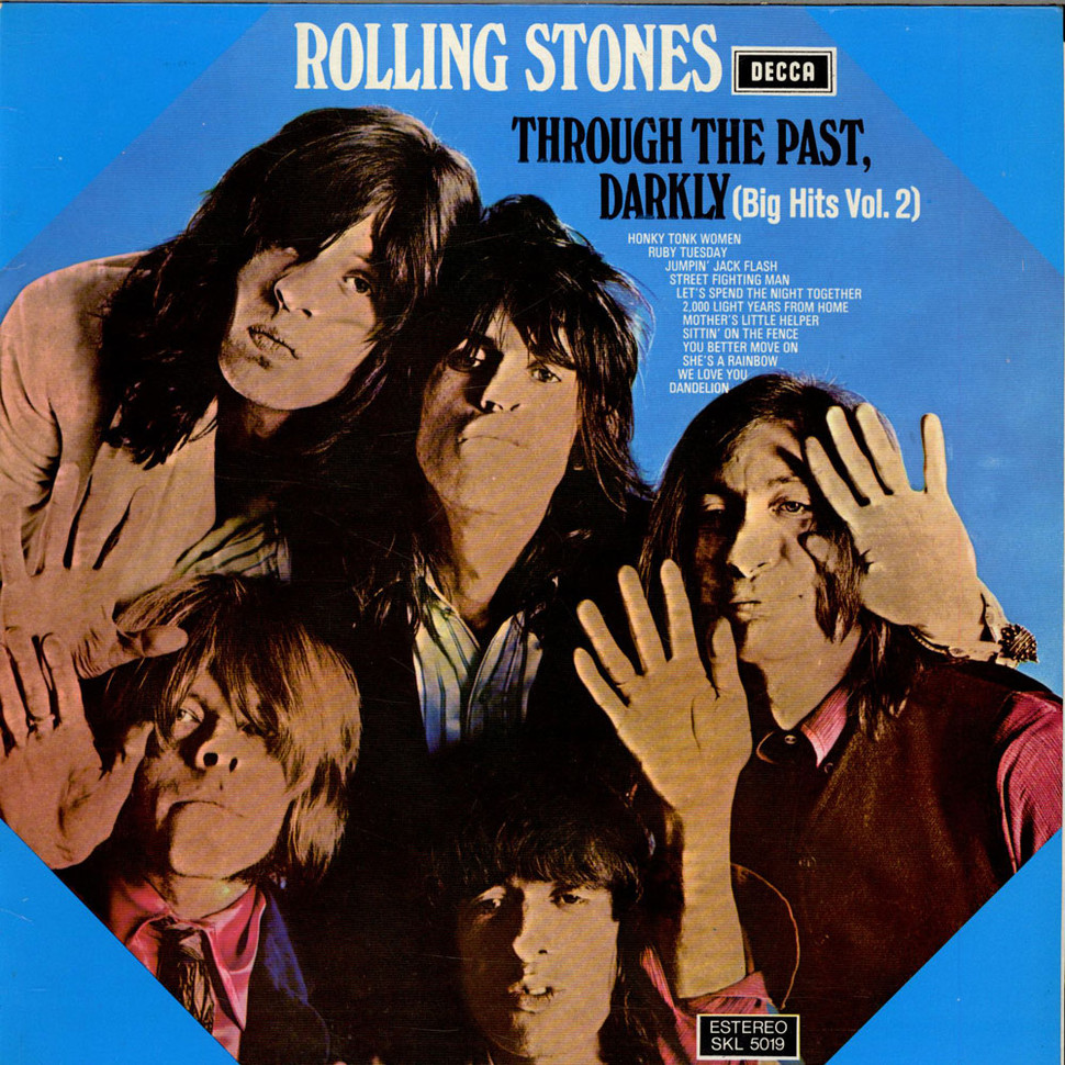 Rolling Stones The Through The Past Darkly Big Hits