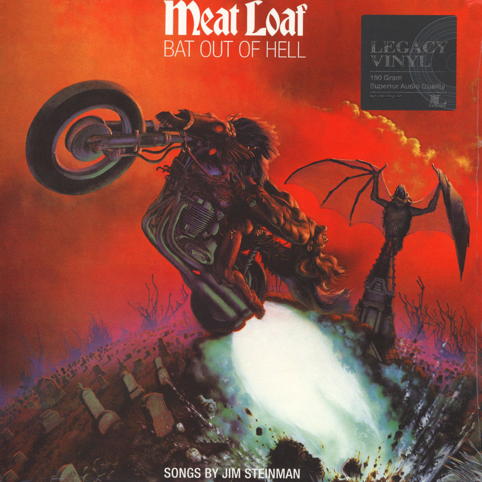 Meat Loaf - Bat Out Of Hell (Vinyl LP - 1977 - EU - Reissue)