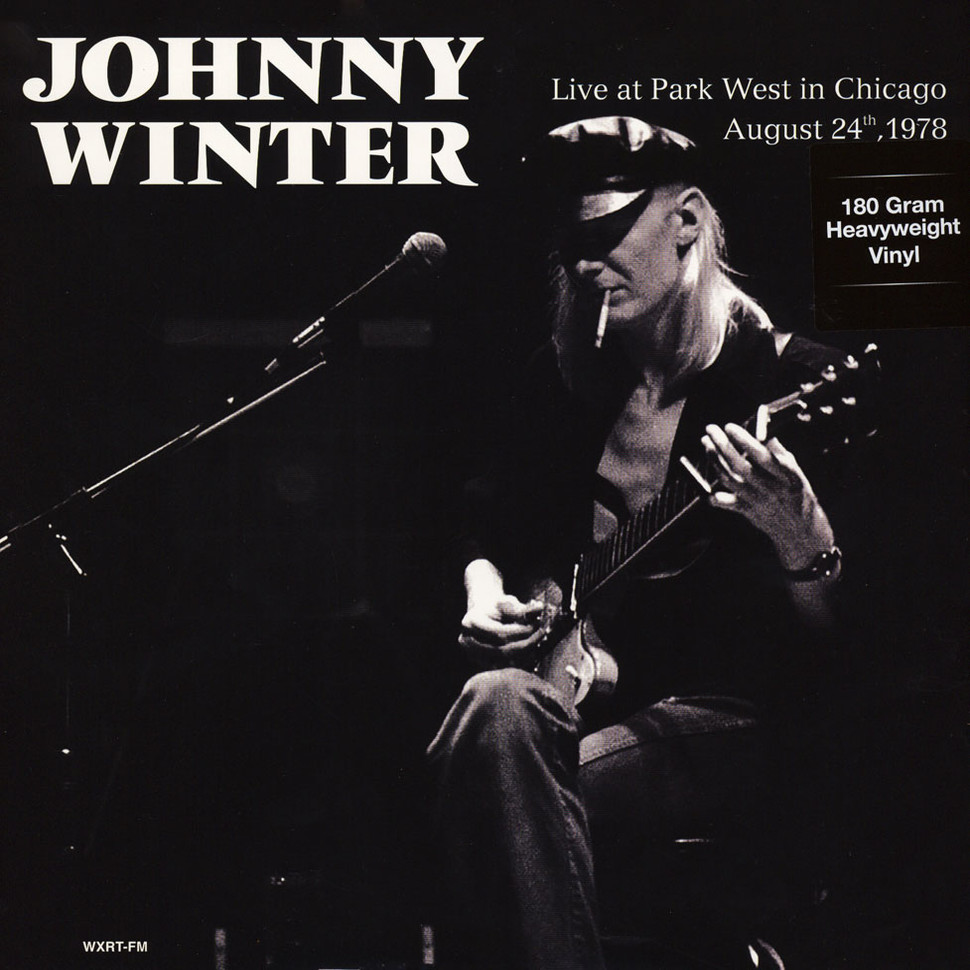 Johnny Winter Live At Park West In Chicago August 24th