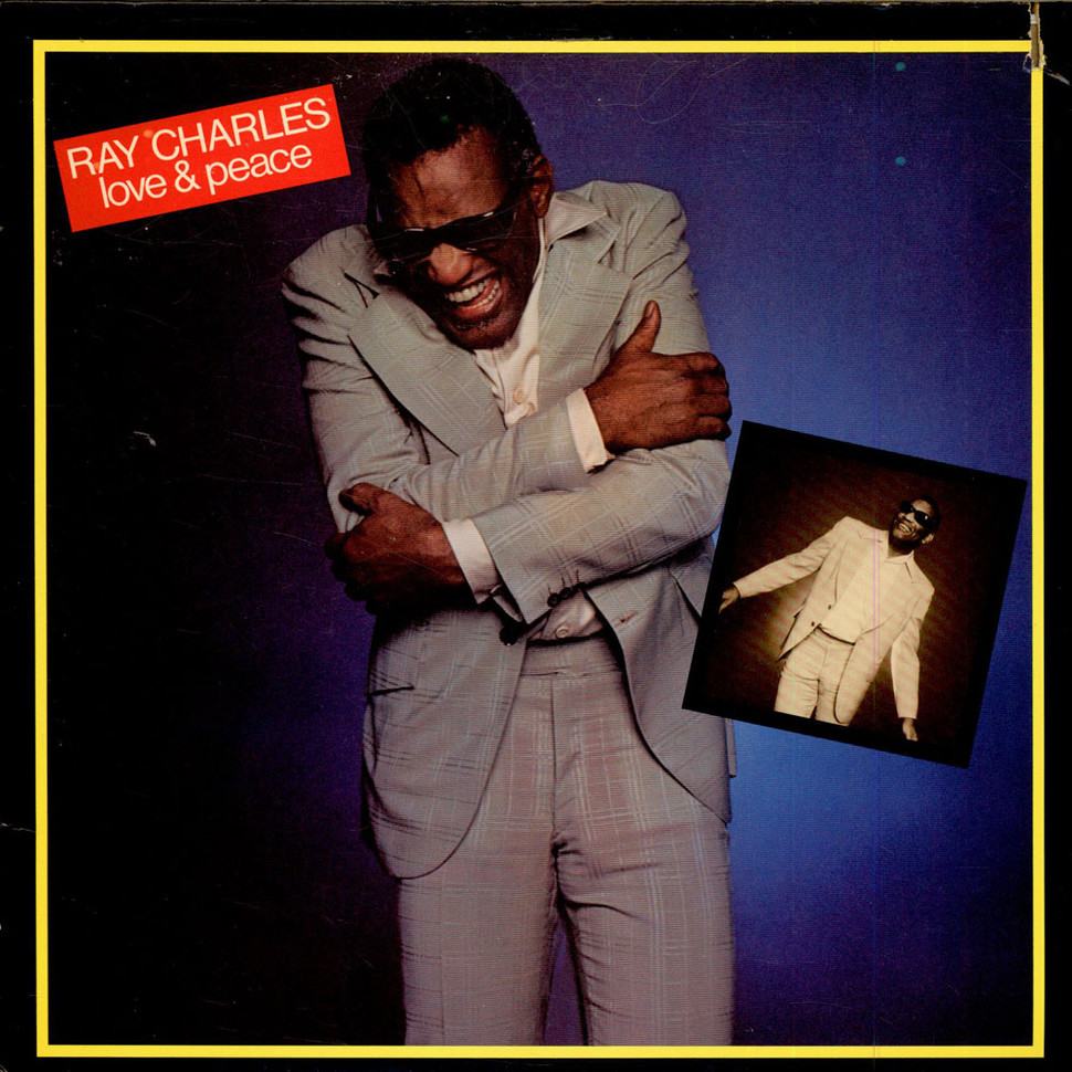 Ray Charles Love Amp Peace Vinyl Lp 1978 Us