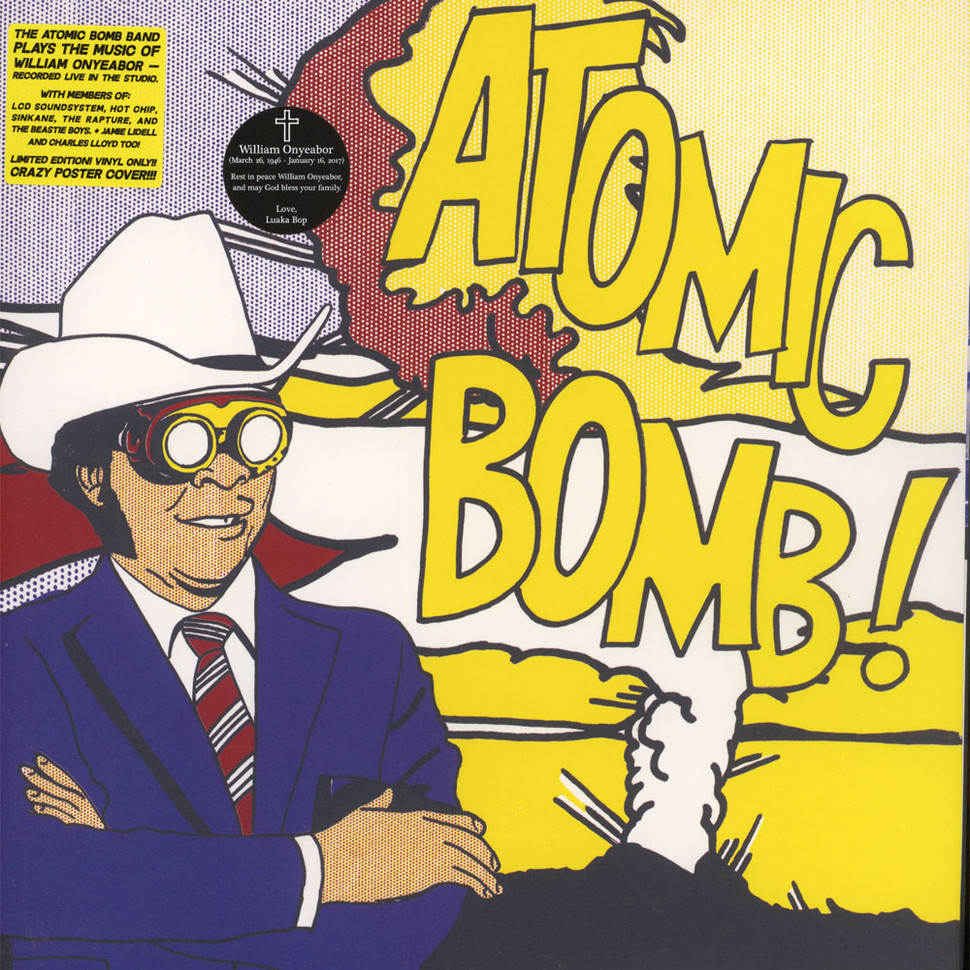 Atomic Bomb Band Plays The Music Of William Onyeabor