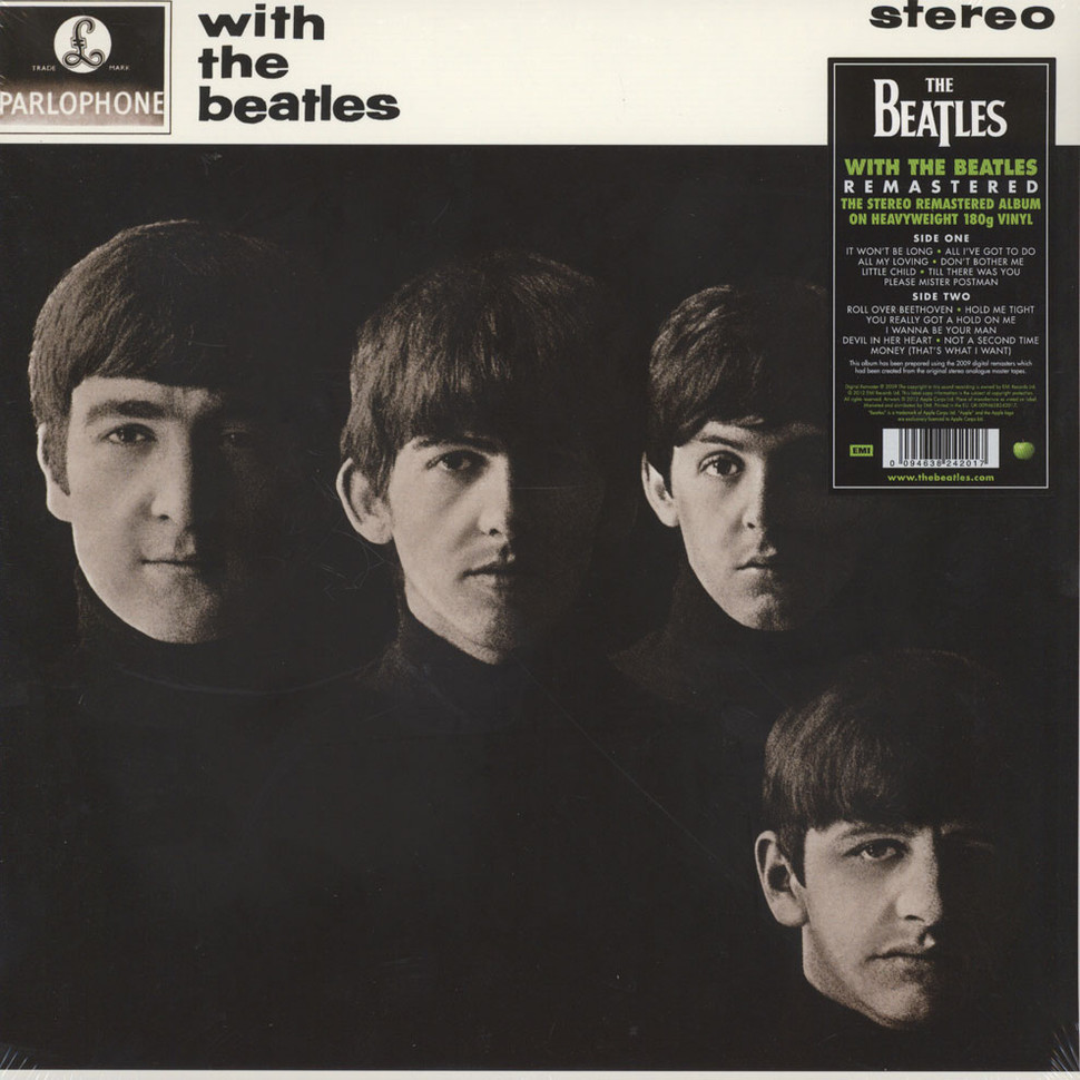 Beatles The With The Beatles Vinyl Lp 1963 Eu Reissue Hhv