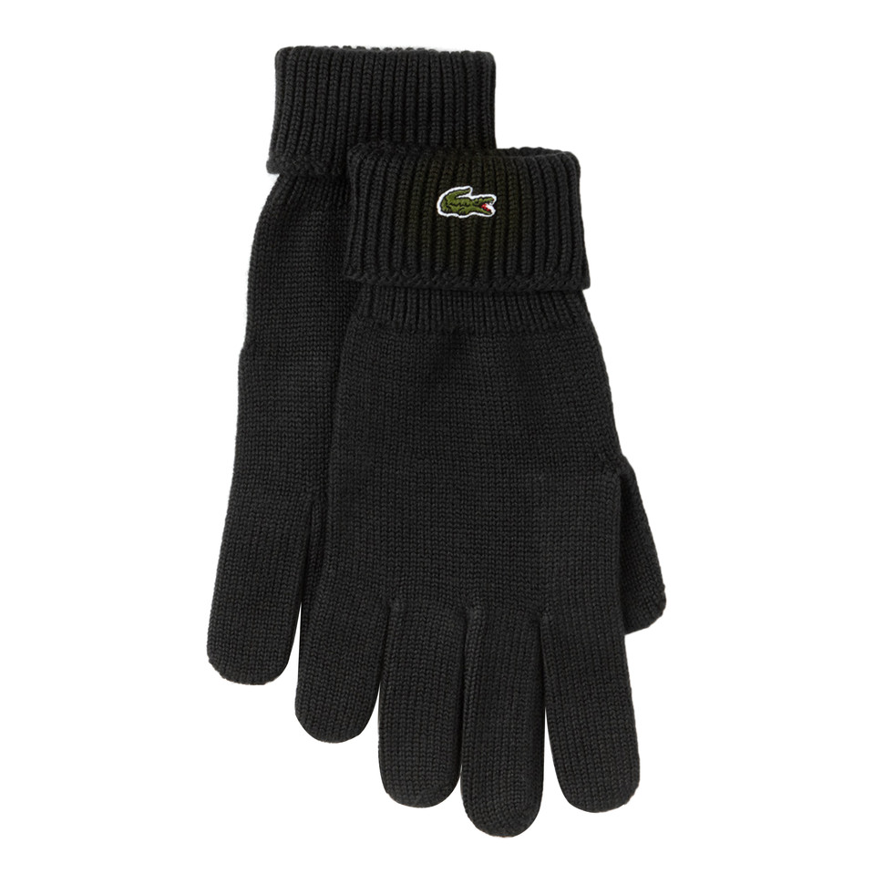236bf5934 Lacoste - Knitted Gloves (Black)