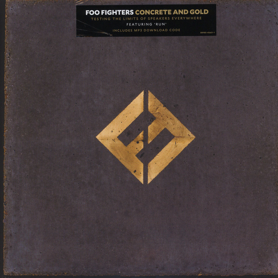 Foo Fighters Concrete And Gold Vinyl 2lp 2017 Eu