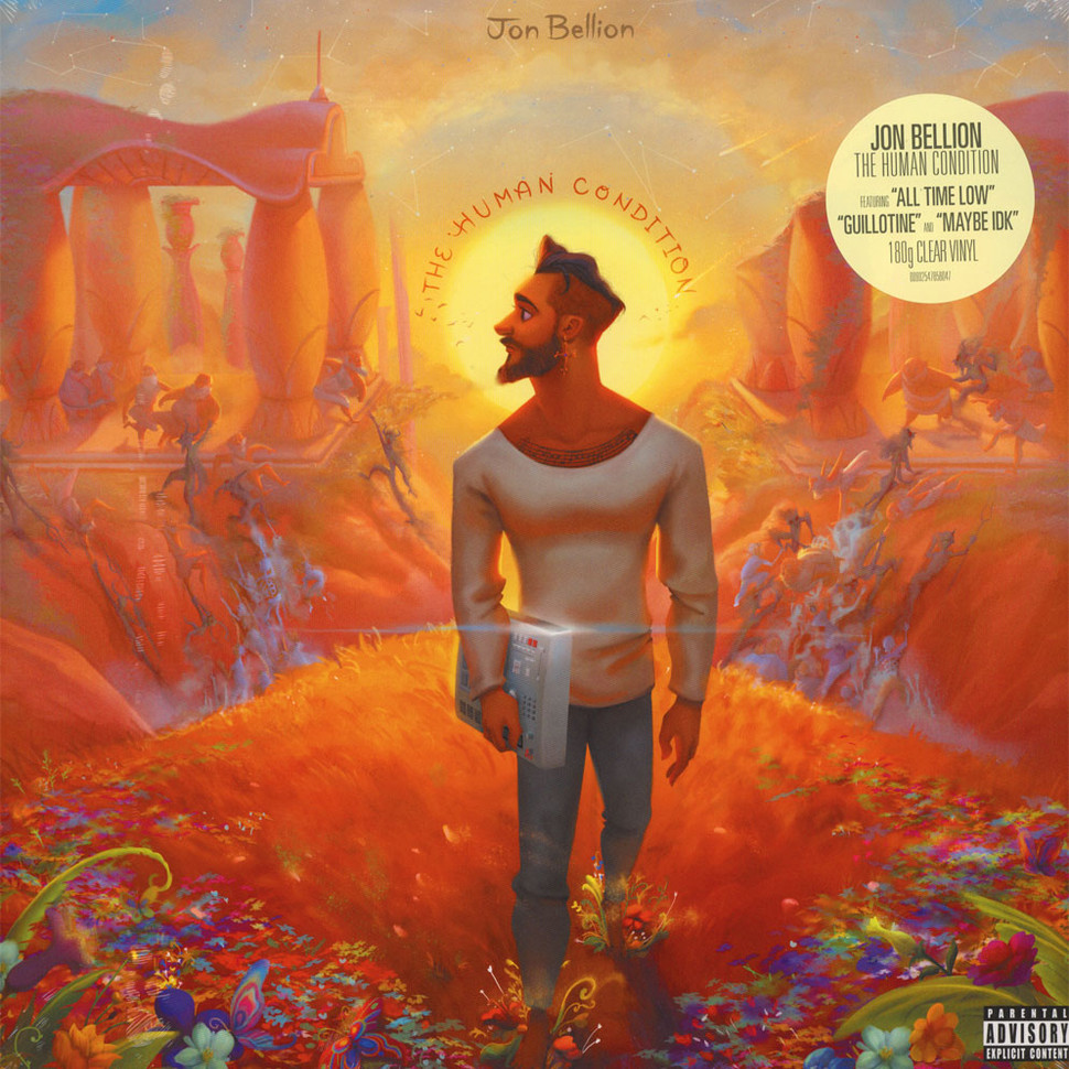 Jon Bellion The Human Condition Clear Vinyl Edition