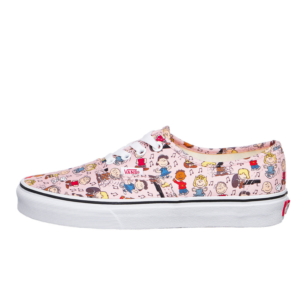 2d8981b2f2 Vans x Peanuts - UA Authentic (Dance Party   Pink)