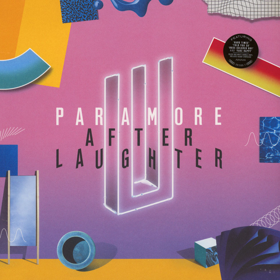 Paramore After Laughter Vinyl Lp Cd 2017 Us