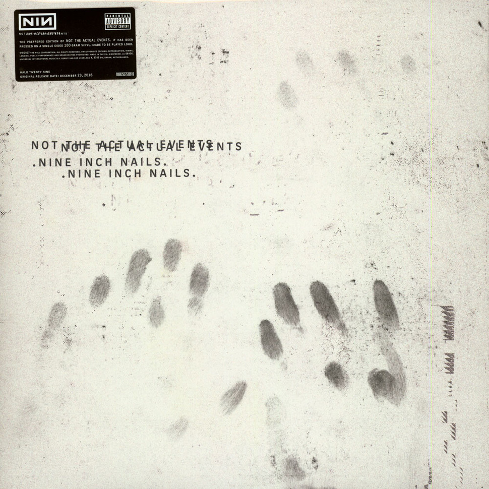 nine inch nails not the actual events download