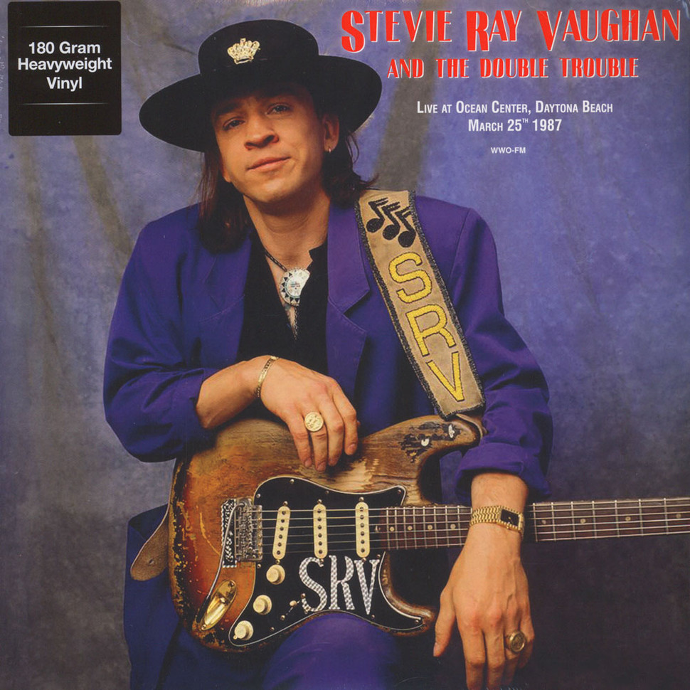 stevie ray vaughan the double trouble live at ocean center daytona beach march 25th 1987. Black Bedroom Furniture Sets. Home Design Ideas