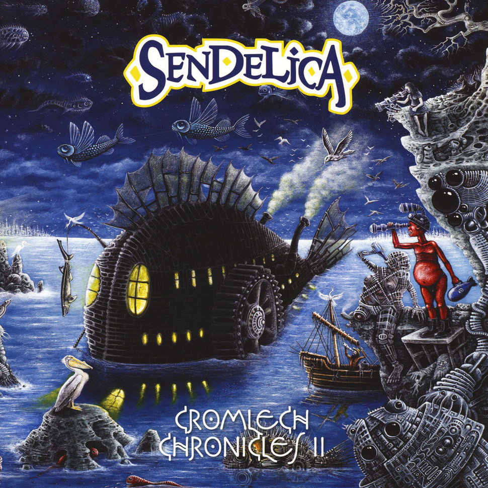 Sendelica Cromlech Chronicles Ii Colored Vinyl Edition A