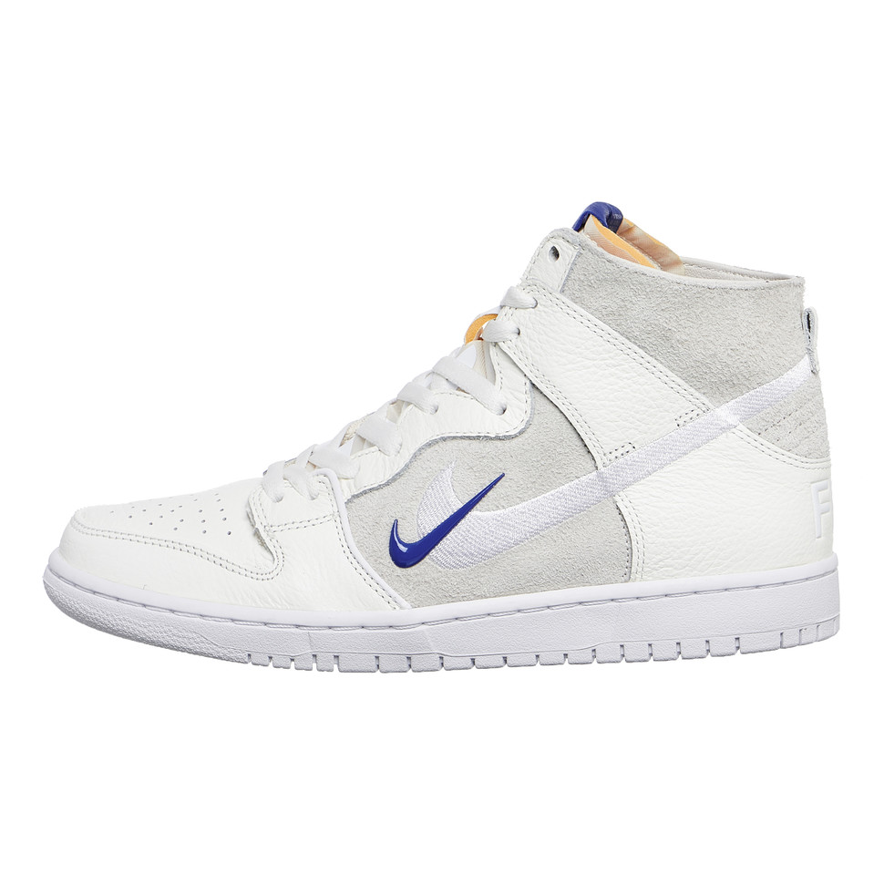 2b08e4c10a64 Nike SB x Soulland. Zoom Dunk High Pro QS (Sail   Game Royal   White)