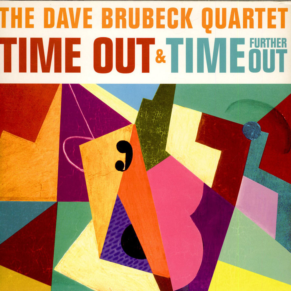 Dave Brubeck Time Out Time Further Out Vinyl 2lp