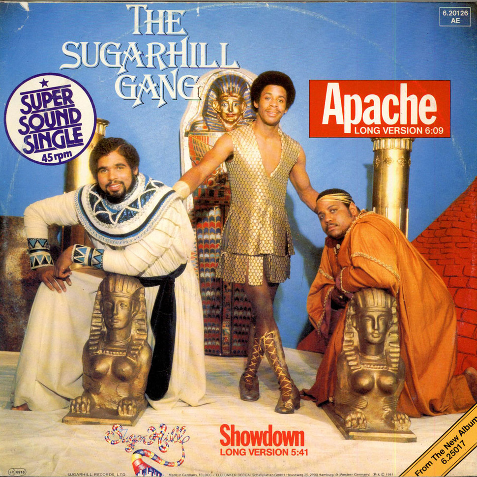 Sugarhill Gang Apache Long Version Vinyl 12 Quot 1981