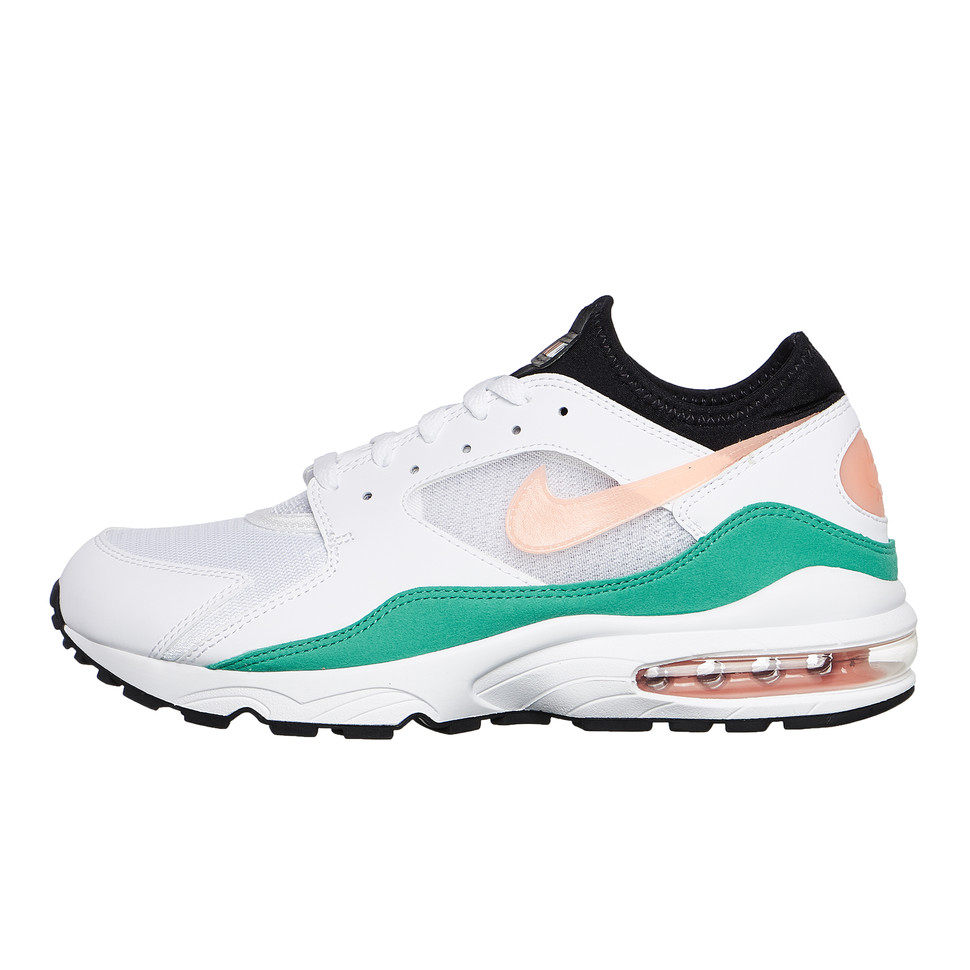 8014268b23 Nike - Air Max 93 (White / Crimson Bliss / Kinetic Green / Black) | HHV