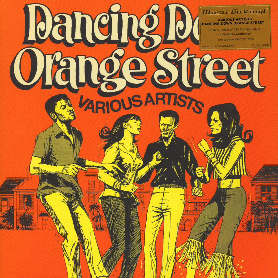 d92d23cf0dc3 V.A. - Dancing Down Orange Street