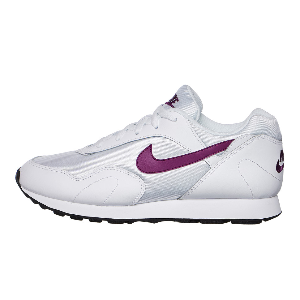 size 40 bc7d9 79392 Nike. WMNS Outburst (White   Bright Grape   Black)