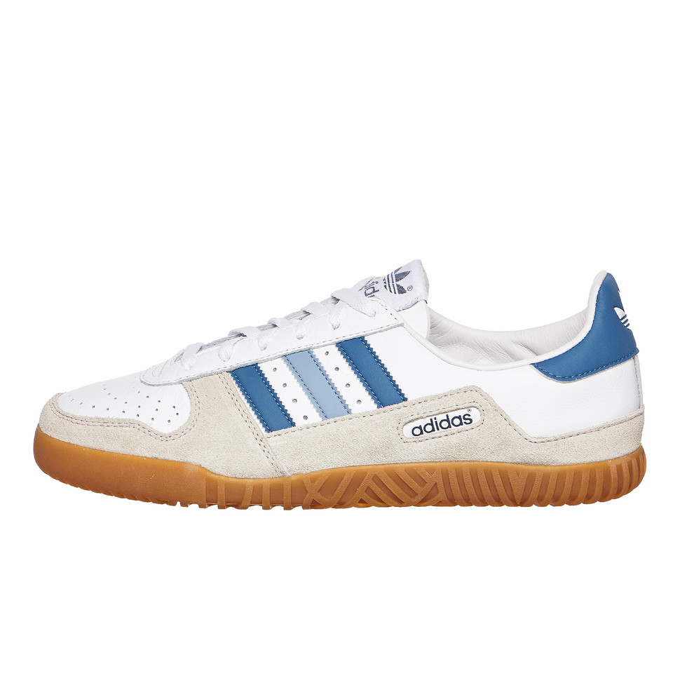 22589748f02 adidas - Indoor Comp SPZL (Footwear White   Supplier Colour   Clear Brown)