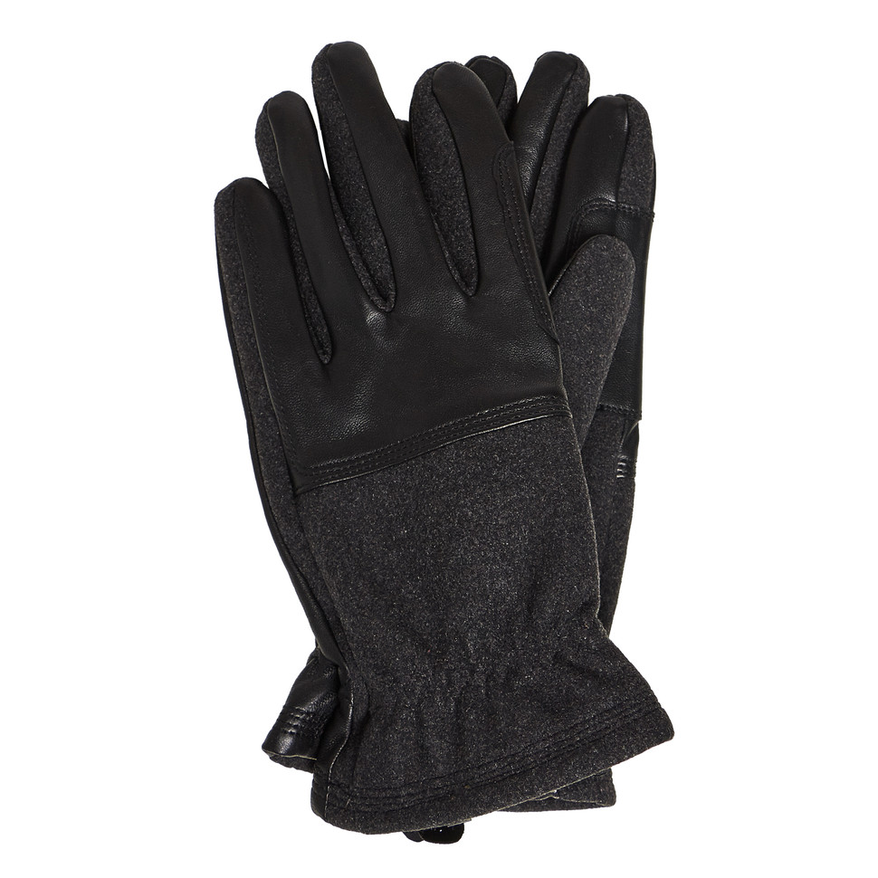 BARBOUR Rugged Melton Wool Mix Glove