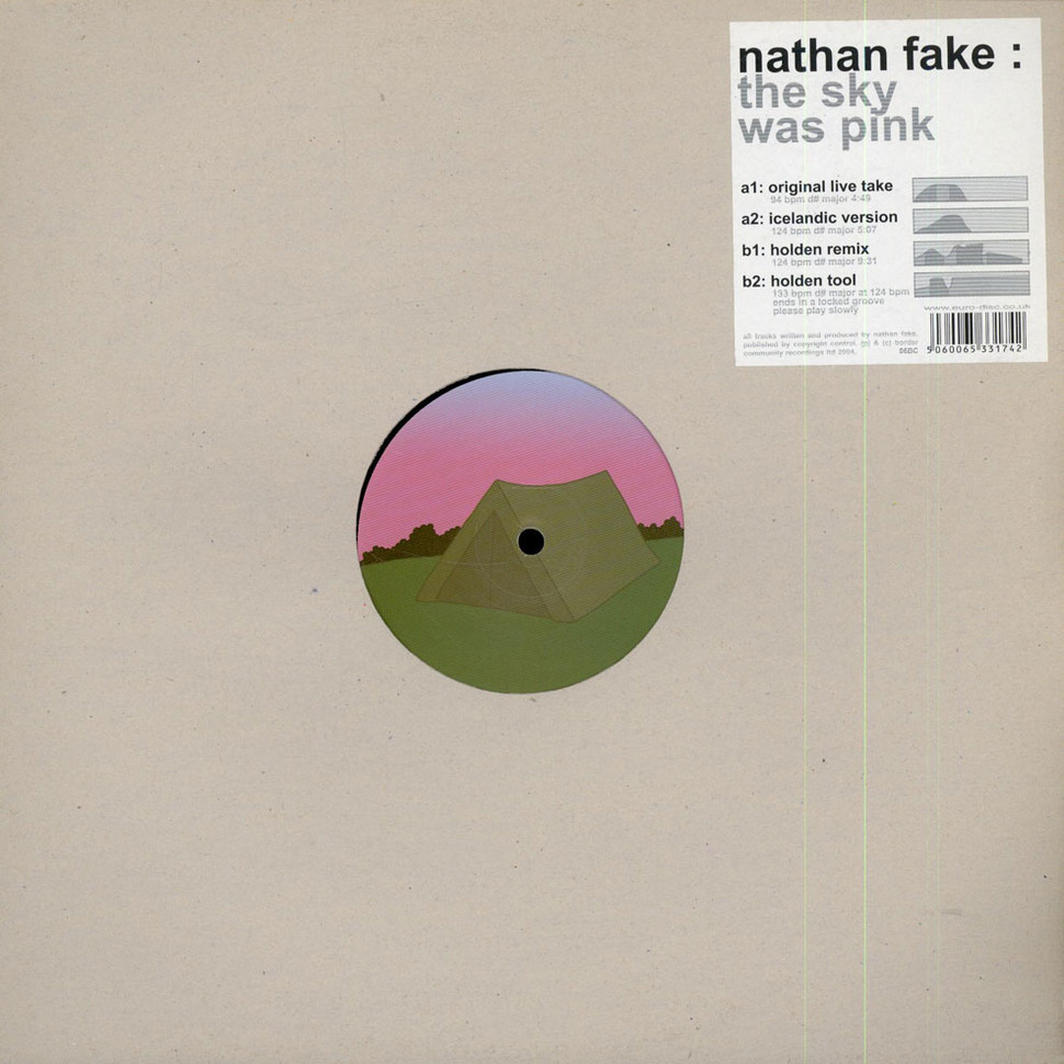 Nathan Fake The Sky Was Pink Vinyl 12 Quot 2004 Uk