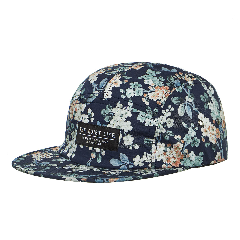 1ce941fca7b The Quiet Life - Liberty Floral 5 Panel Camper Hat (Navy)