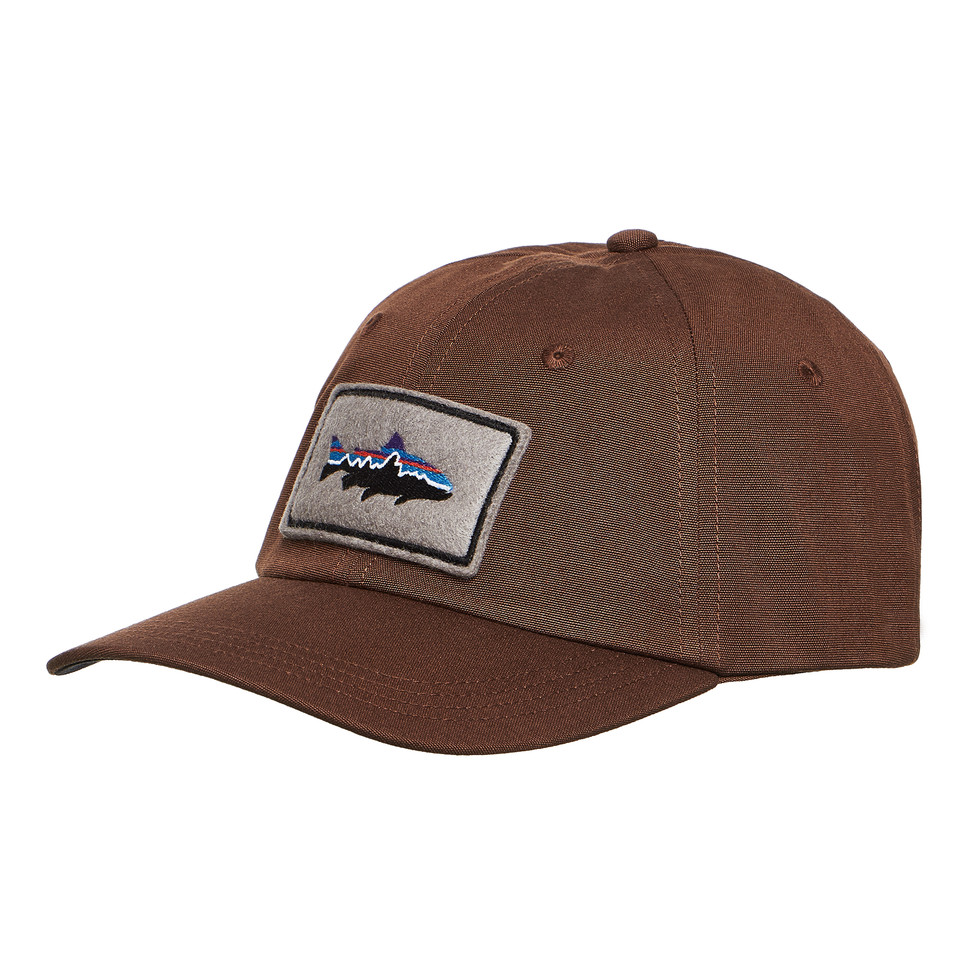 c2d1a844a9aab Patagonia - Fitz Roy Trout Patch Trad Cap (Timber Brown)