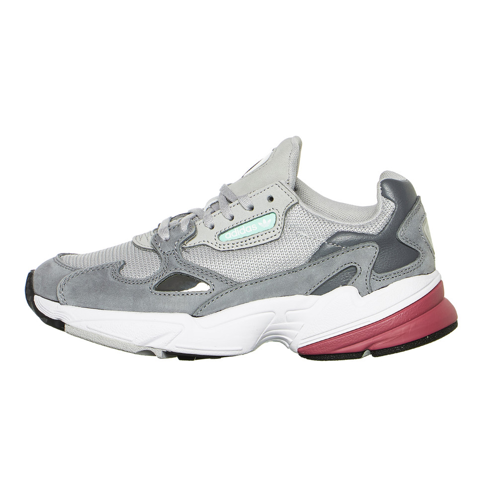 wholesale dealer 26f98 45e13 adidas - Falcon W (Grey Two  Grey Two  Trace Maroon)  HHV