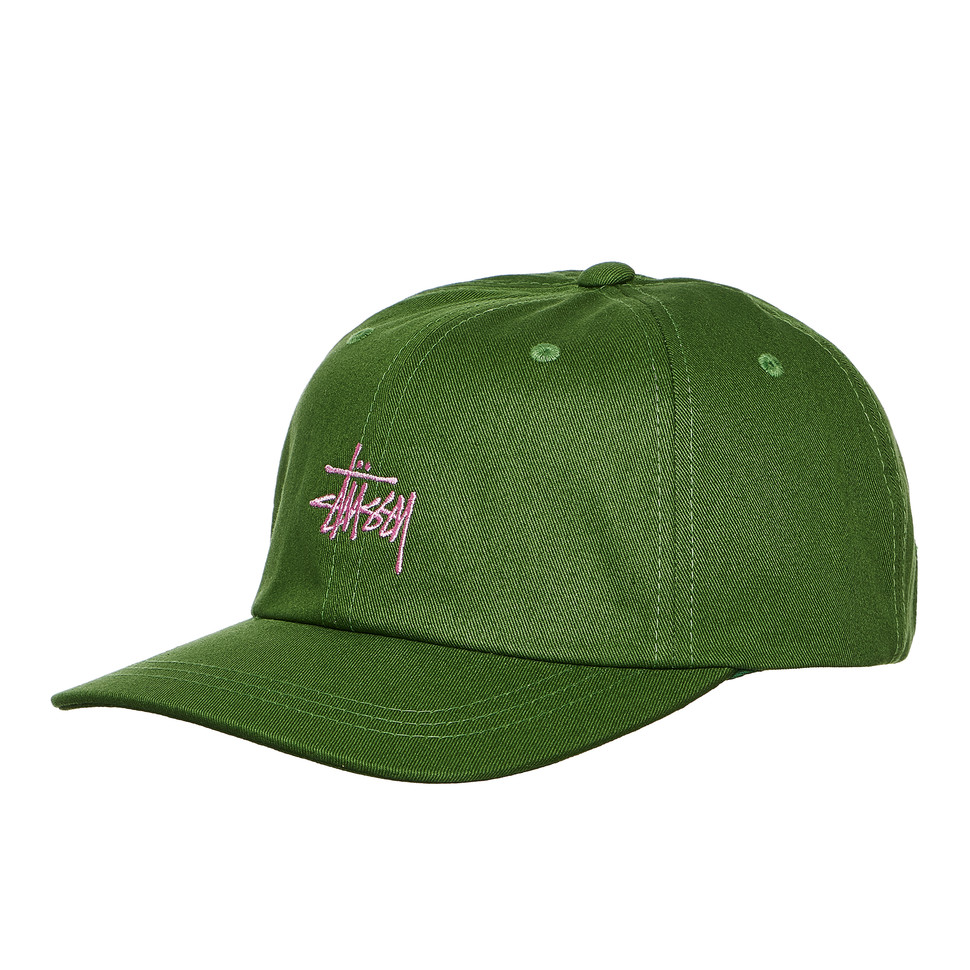 86c09593526e6 Stüssy - Stock Low Pro Cap (Green)