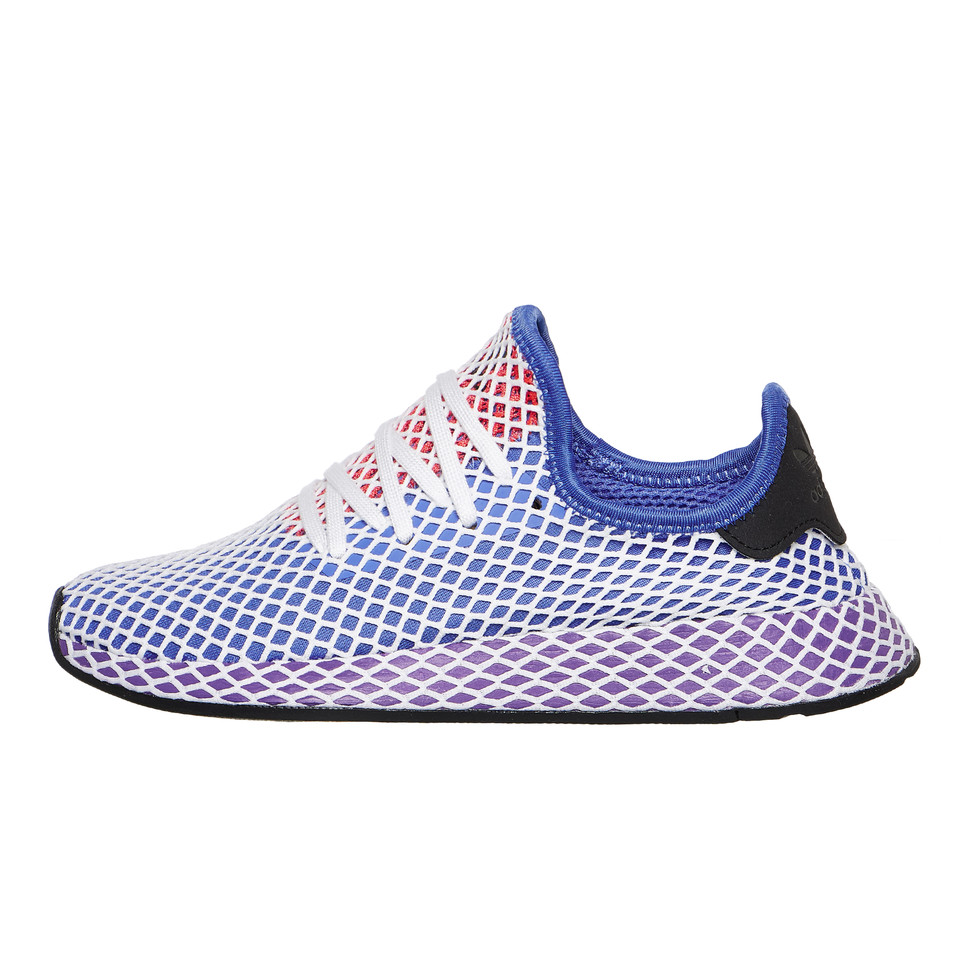 3a0b004a3 adidas - Deerupt Runner W (Real Lilac   Active Purple   Shock Red)