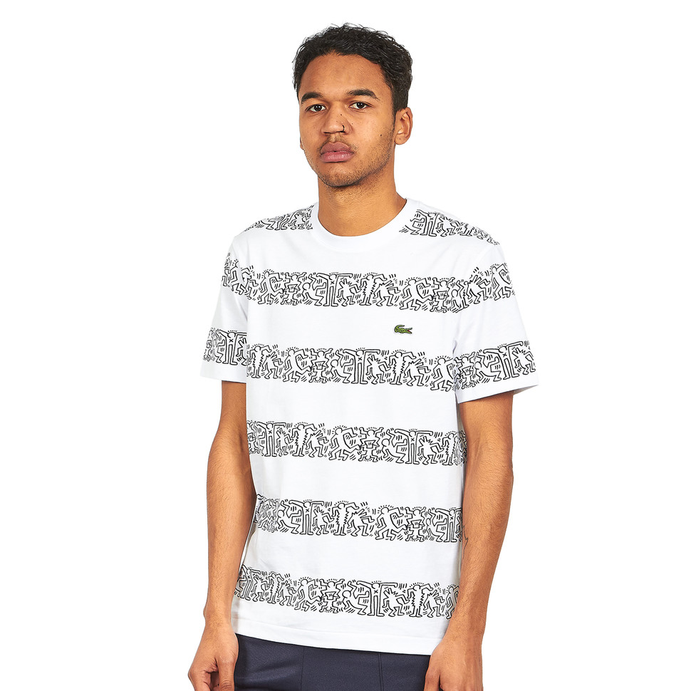 LACOSTE Printed Supple Jersey