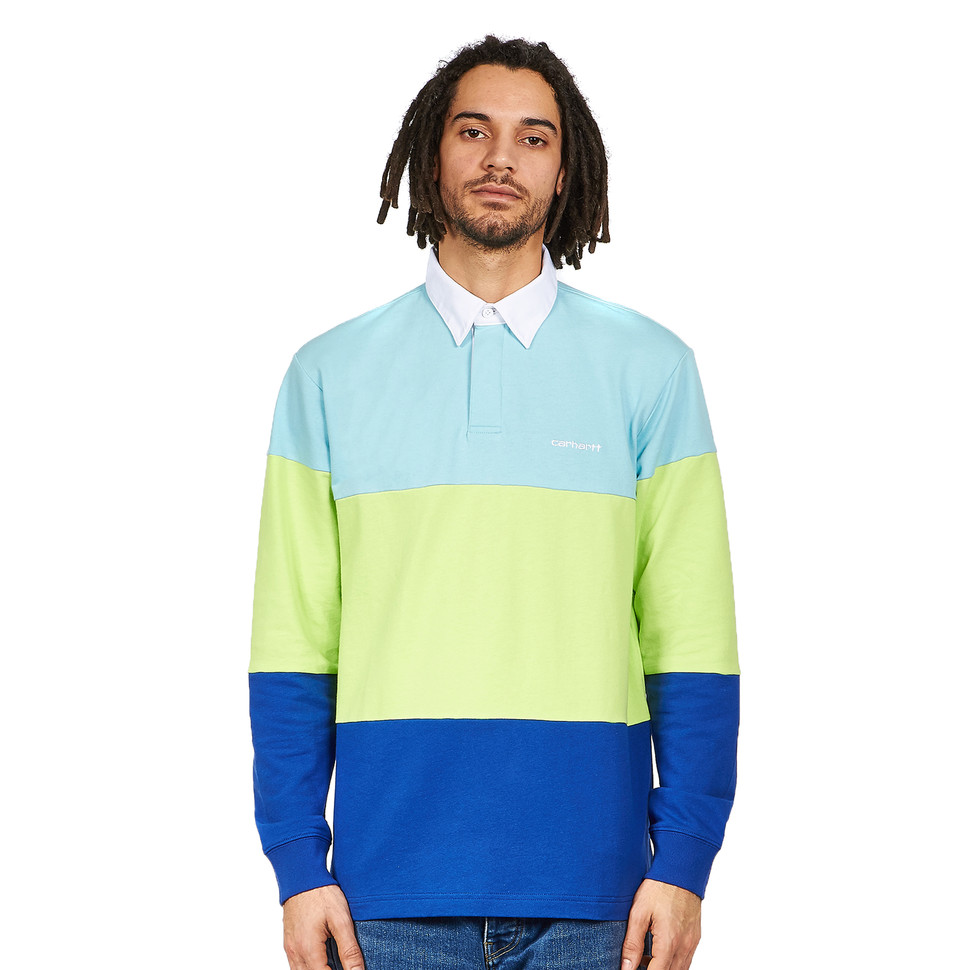 CARHARTT L/S Newport Rugby Polo