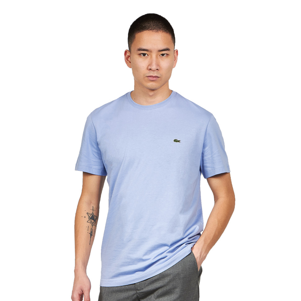 LACOSTE Crocodile Embroidered T-Shirt | LACOSTE SALE