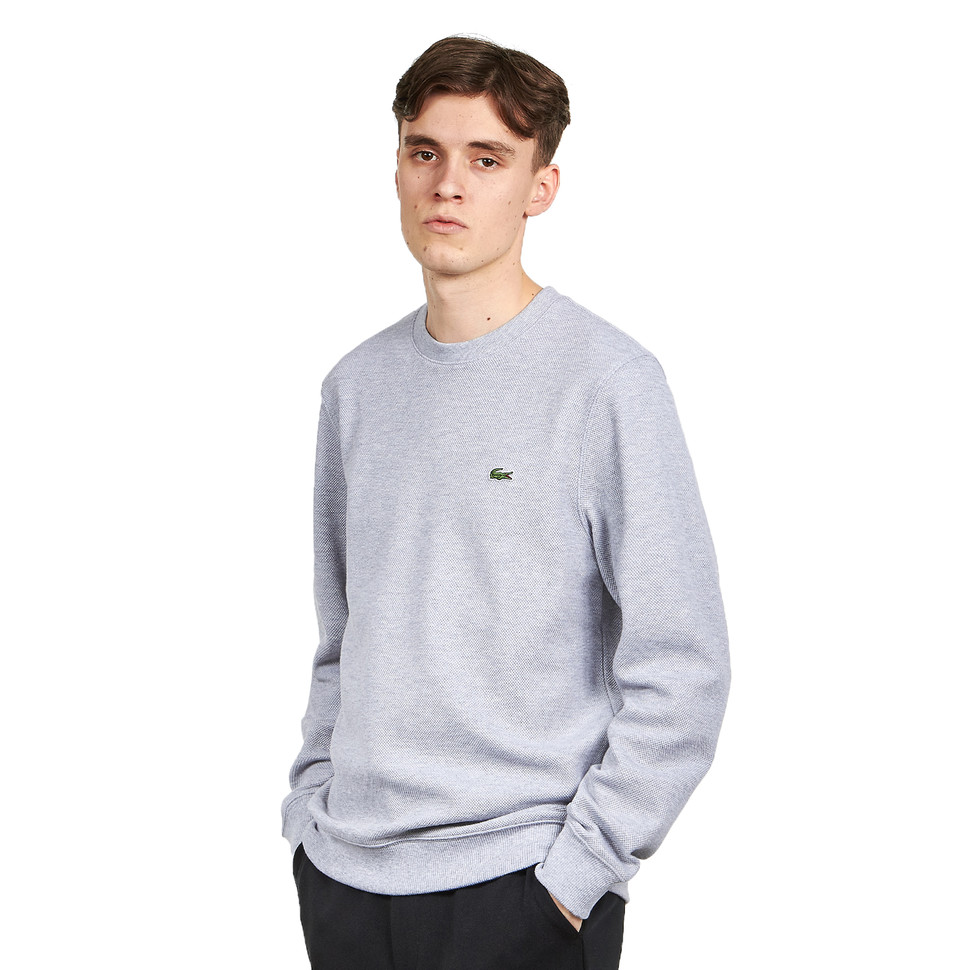LACOSTE Non Brushed Pique Fleece Sweater