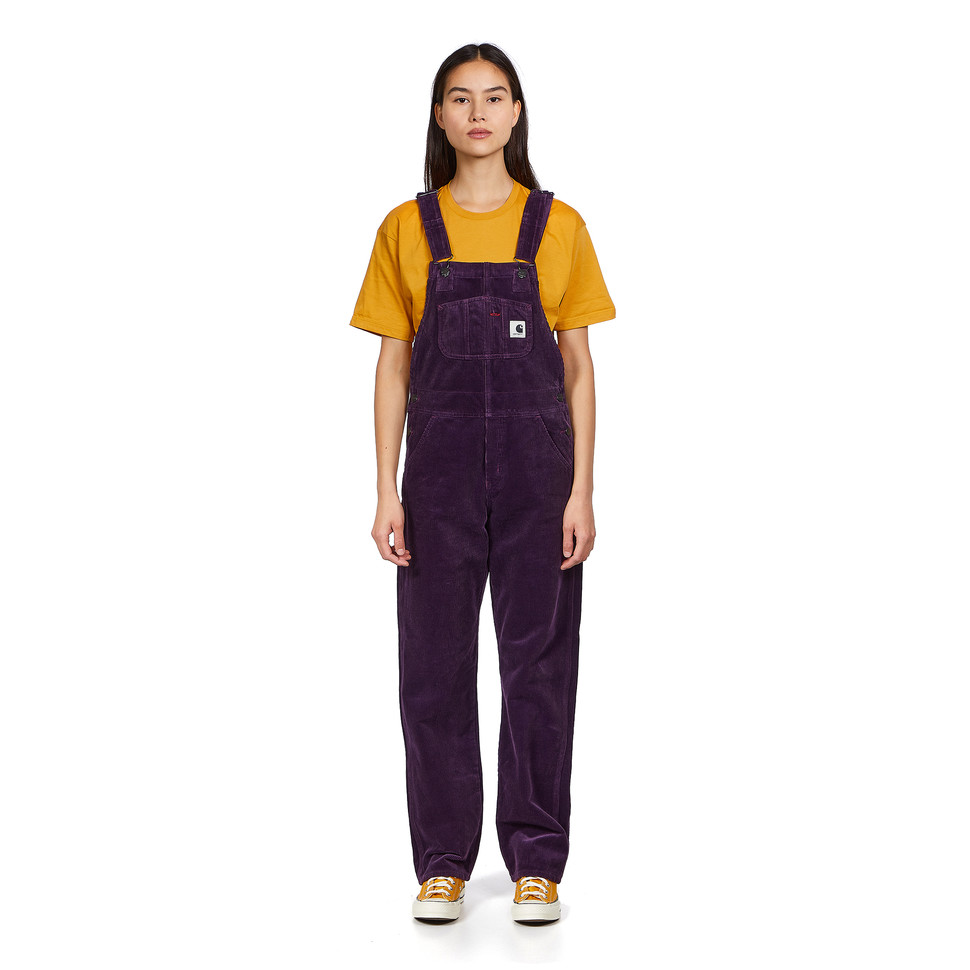 "CARHARTT W' Bib Overall Straight ""Brookfield"" Stretch Corduroy, 10.9 oz"