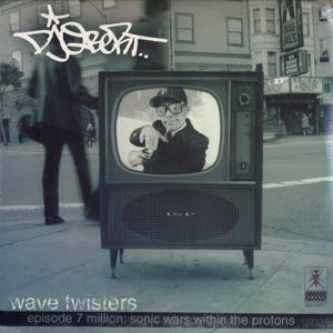 DJ QBERT - Wave twisters - LP x 2