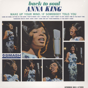 ANNA KING - Back To Soul - LP