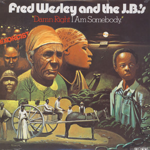 FRED WESLEY & THE JB'S - Damn right i am somebody - 33T