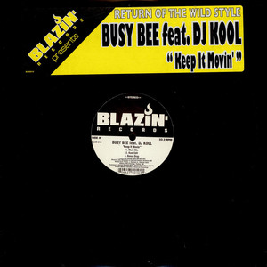 BUSY BEE - Keep It Movin' - Maxi x 1