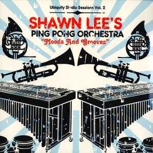 SHAWN LEE'S PING PONG ORCHESTRA - Moods & grooves - 33T x 2